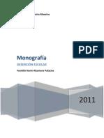 MONOGRAFIA DESERCION ESCOLAR