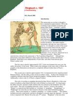 Das Landshuter Ringerbuch - Hans Wurm 1490
