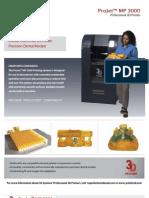 3DS ProJetMP Brochure US