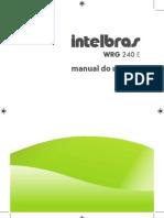 Guia_do_Usuário_WRG 240 E - Roteador Wireless 54 Mbps_Português[1]