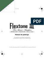 Flextone III User Manual - French