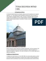 Arquitectura Segunda Mitad Del Siglo Xix