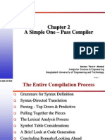 Simple One Pass Compiler