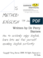 Barnes Method English @ 2nd Edition The Most Expensive English Classes in the World