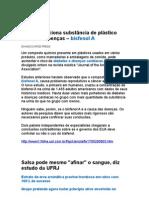 Estudo Relaciona Substância de Plástico Comum a Doenças - Medicina Preventiva - Curas Naturais