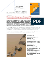 Flood Situation in Orissa 21th Sept 2008