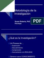 a de La Investigacin Completo[1]