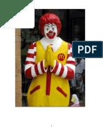 McDonald's 4P's Of marketing