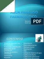 AGUA PARA USO FARMACÉUTICO FINAL!!!!