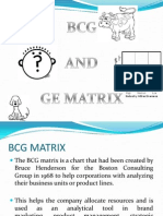 BCG AND GE