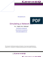 Simulating a Network Lab in GNS3