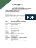 CONTA-La Ley General de Sociedades