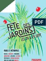 Programme Fete Des Jardins 2011