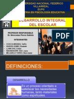 DESARROLLO INTEGRAL DEL ESCOLAR 2011-PERÚ