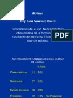 1. ÉTICA MÉD EN EST MEDICINA - Dr Rivera