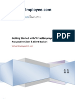 Getting Started With Virtual Employee Client Booklet