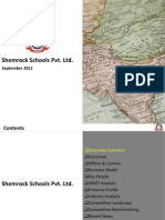 Shemrock Schools Pvt. Ltd.- Company Profile