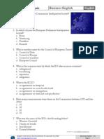 Introductory Quiz on EU