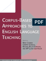 Corpus Based Linguistic Approaches