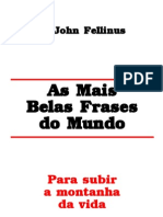 LIVRO - As Mais Belas Frases Do Mundo - John Fellinus