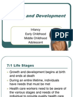 Growth and Development Infancy Toddler Hood 2 by Ms. Mevelle L. Asuncion