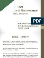 BSNL GSM training presentation