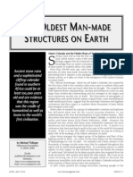 THE OLDEST MAN - MADE STRUCTURES ON EARTH