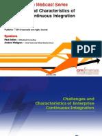 Enterprise Continuous Integration Presentation