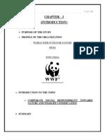 Final Project on Wwf by Prateek Gupta Under Guidance of Dr Sumeet Singh Jasial Sir