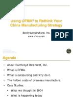 Dfma China