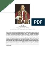 Extracto Carta Encíclica Papa Juan XXIII sobre rezo rosario
