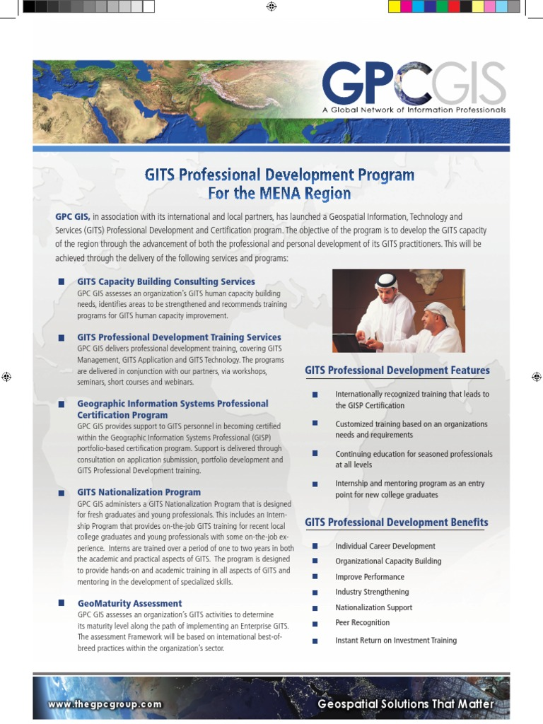Gits Pds Brochure Geographic Information System Professional