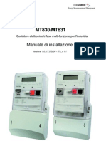 MT830 MT831Manuale d'Intallazione