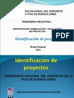 Identif. de Proyecto Ml