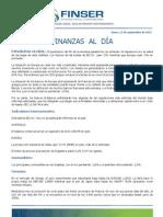 Finanzas al Día - 12.09.11