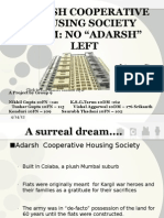 Adarsh Cooperative Housing Society Scam