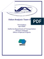 Cal Trans Team Guide