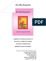 The Shia Responds - Ayatullah Raza Hussaini Nassab[1]