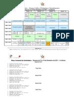 Plano Semanal de Actividades 12 a 16 de Setembro