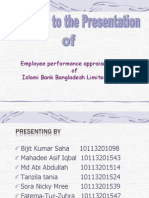 Performance Presentation