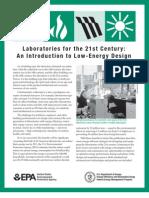 Lab Energy Saving Strategies