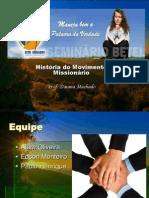 história do movimento Missionario
