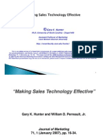 Making Sales Technology, CRM, And Sales Force Automation Effective