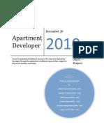 Apartment Square Feet Optimization