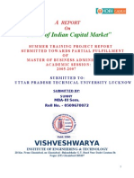 Basic of Indian Capital Market