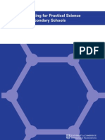 Planning for Practical Science in Secondary Schools