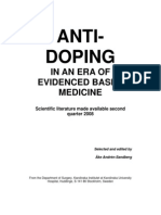 Anti Doping in an Era of Evidence Karolinska Institutet