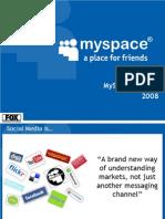 MySpace Oct 2008