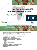 Rwanda IGF_Atsushi Yamanaka Presentation on EA Common ICT Certification Scheme