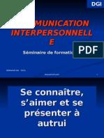 Com. Interper L'Image de Soi